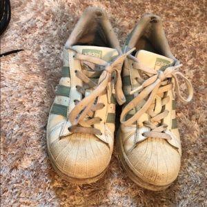 adidas Shoes - tactile green adidas originals sneakers